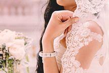 Wedding - Veils and Dress / by Elizabeth Lewis