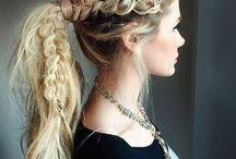braided ponytales