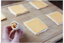 Ψωμί τοστ στο τηγάνι