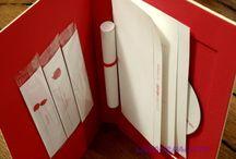 Idées de communication / Projets originaux de dossier de communication type papier.