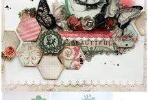 Inspiration, Projects & Beautiful stuff! / All kinds of projects & inspiration on paper crafts to multi-media.