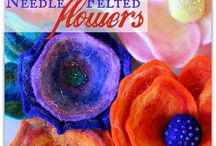 tutorials: needle felting (flowers)