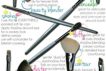 Makeup Tools / by Marty R