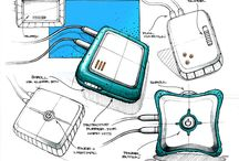 Sketching - Electronics / by Laut Design Inc