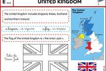 carte anglais pinterest