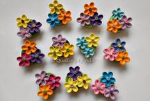 Quilling magnets & broches / Quilling magnets