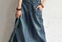 Джинсовая одежда