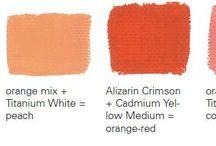 Как получать новые тона из краски