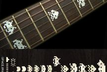 "Character / inlay sticker ""Character"" guitar/ukulele decals"