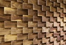 Wall panels / Стеновые панели / wall decor and decoration * wall art ideas * wall panels and panneling * wood wall design * decorative wall panels