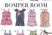 Baby wear// Rompers / Cute baby one piece rompers / by Wild Dill