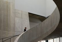 Curved staircase / Impressive but also practical
