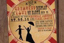 Aurora Invited Invitations / Event Invitations Designed by Aurora Graphic Studio  Etsy.com/shop/AuroraGraphicStudio / by Jennifer Rose