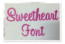 Embroidery Fonts / by Ruthie Hart