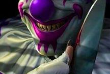 Clowns / by Moxley Haunted-House
