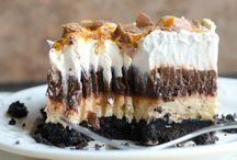 Dessert Recipes / Satisfying the sweet tooth one amazing calorie at a time  / by Lacey Lee