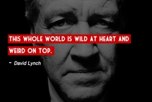 my inspiration David Lynch