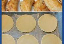 Masa empanadas de horno