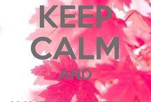 Teksten- Keep calm...