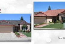 Before & After: Tile / Before & After Gallery of Concrete Tile roofs Cal-Vintage Roofing has completed.