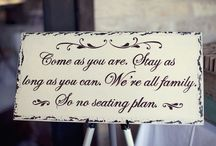 Wedding ideas / by Lisa (Wood) Soucek
