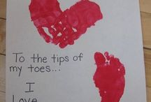 Handprints/footprints / by Rachel Bradford