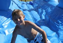 Spring Break Fun! Your Backyard Camp! / Looking for something to do with your little ones in Sarasota, Bradenton, Lakewood Ranch and beyond? Want to add some fun to your week? How about a waterslide? Stay-Cation Splendour in your backyard!  Go in with some neighbors and friends and slip the cost of the fun!