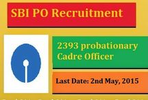 SBI PO Recruitment 2015 / The State Bank of India has been decided to hiring the employees for 2393 vacancies at Probationary officer post. This is great news from SBI Bank for those candidates who are looking and waiting for SBI PO Recruitment 2015. Willing and eligible candidates can apply for Sbi Jobs Recruitment 2015 through online mode. The online application form filling last date is 2nd May, 2015.