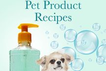 Pet Product Recipes / Free Recipes for Natural Pet Products.  #petproducts