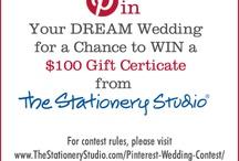 TheStationeryStudio.com 2013 Dream Wedding Contest / by Mindy Stum