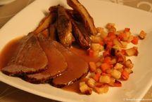 Middag-kalvekjøtt