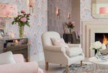 Déco : le charme d'un cottage anglais / Quelques astuces pour transformer votre salon en véritable cottage anglais.