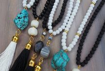 TasselMania! / Tassels are so popular now, everything with tassels! Earrings, necklaces, long or short!! Metals, leather, silk, possibilities are endless!!