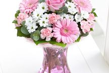 Pink Flowers / Pink flowers are often used as a symbol of love and awareness.  / by Interflora - The flower experts