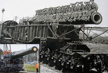 WW1/WW2 RAILWAY GUN