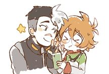 SHIRO AND PIDGE MY SPACE BBYS