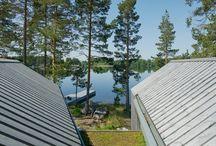 Villa Sunnanö-schwedische Seeblick Villa Murmane Arkitekter