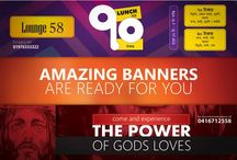 Banners / Banners I have made for my clients.