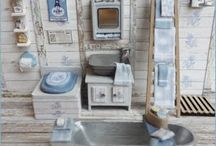 Bathroom dollhouse / Bathroom