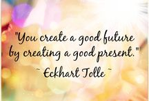 Eckhart Tolle :)