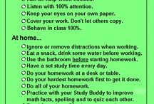 Study Skills / Preparing students for high school