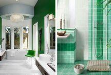 Цвет ванной комнаты / Цвет играет важнейшую роль в оформлении любого интерьера. Именно благодаря цветовым решениям можно сделать интерьер легким и воздушным, ярким и жизнерадостным или холодным…
