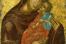 Madre di Dio della Tenerezza / Madre di Dio Eleousa, Glycophilousa, Kardiotissa, Pelagonitissa, Kikkotissa, della Passione,