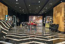 Парфюмерные магазины / Дизайн и оборудование парфюмерных магазинов
