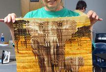 Fractured quilt