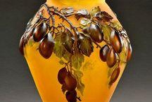 secesní vázy - Émile Gallé