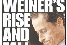 The Weiner Board of Weiner Boards / The Weiner is IN THE HOUSE. Weiner Headlines!  We don't make this stuff up, Weiner did though.
