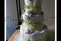 Torte di pannolini / http://www.themisscreations.com/