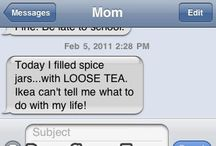 Texting LOL / Funny stuff from texts, Facebook, twitter, etc. / by Ambrosia Bosetraum