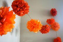 Orange, oranje, Koningsdag / Everything to do with dutch KIngsday! Alles oranje, lekker en frolijk!